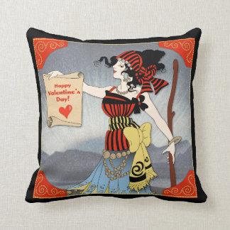 Almofada Travesseiro do feliz dia dos namorados do vintage