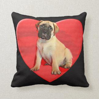 Almofada Travesseiro do filhote de cachorro de Bullmastiff