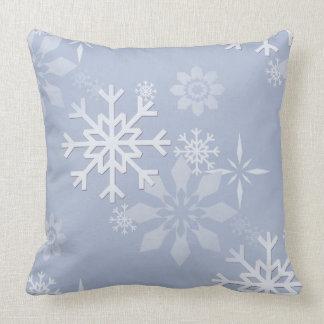 Almofada Travesseiro do floco de neve