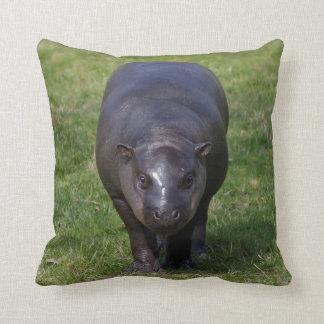 Almofada Travesseiro do hipopótamo do bebê