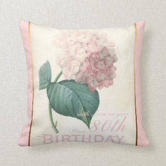 Almofada travesseiro do Hydrangea do vintage da celebração