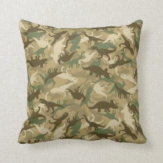 Almofada Travesseiro do impressão do dinossauro da