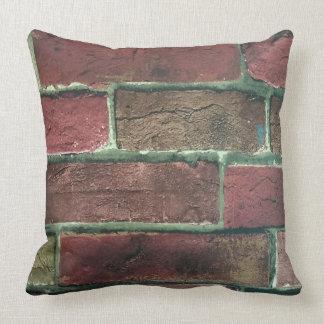 Almofada Travesseiro do impressão do tijolo