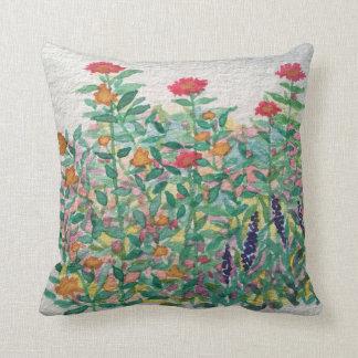 Almofada Travesseiro do jardim do Zinnia