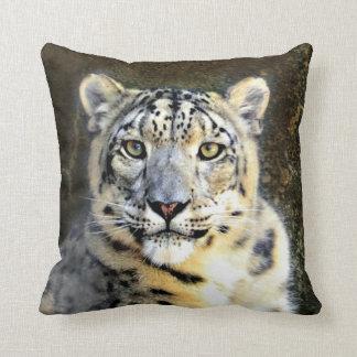 Almofada Travesseiro do leopardo de neve