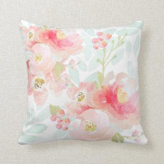 Almofada Travesseiro do luxuoso do rosa da flor de Indy