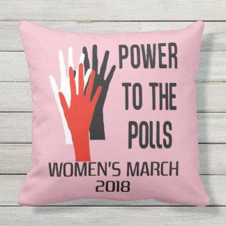 Almofada travesseiro do março da mulher