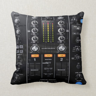 Almofada travesseiro do misturador do DJ