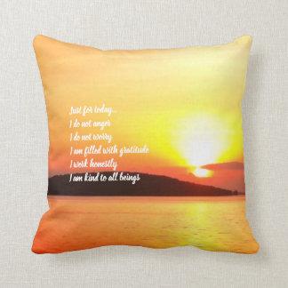 Almofada Travesseiro do nascer do sol dos princípios de