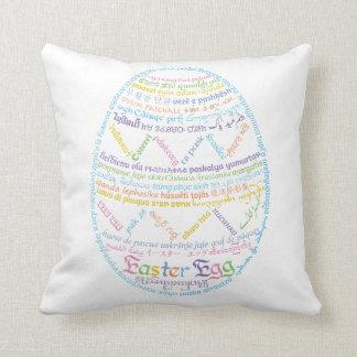 Almofada Travesseiro do ovo da páscoa de Wor (l) d