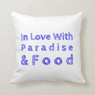 Almofada Travesseiro do paraíso e da comida