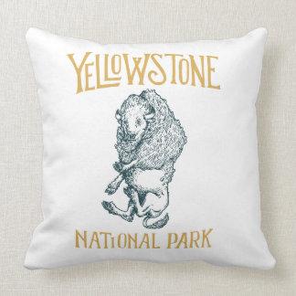 Almofada Travesseiro do parque nacional de Yellowstone