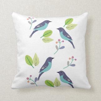 Almofada Travesseiro do pássaro da canção