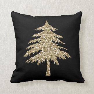 Almofada Travesseiro do pinheiro do efeito do brilho do