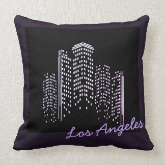 Almofada Travesseiro do poliéster da skyline de Los Angeles