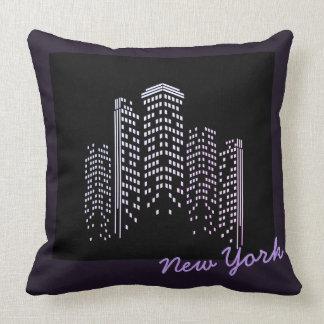Almofada Travesseiro do poliéster da skyline de New York