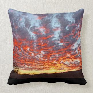 Almofada Travesseiro do por do sol glorioso