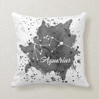 Almofada Travesseiro do preto do Aquário