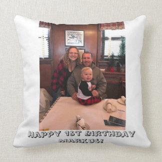 Almofada Travesseiro do primeiro aniversario