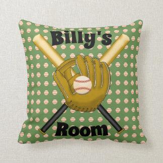 Almofada Travesseiro do quadrado do basebol