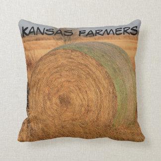 Almofada Travesseiro do quadrado dos fazendeiros de Kansas