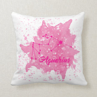 Almofada Travesseiro do rosa do Aquário
