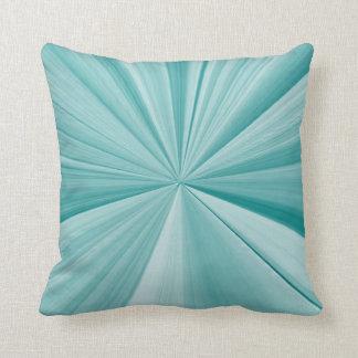 Almofada Travesseiro do sofá do nó da pitada de turquesa e