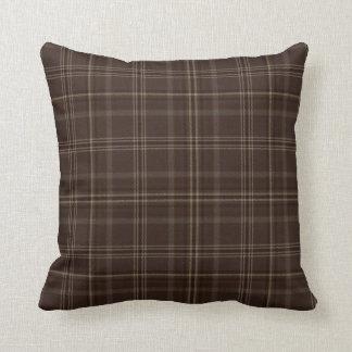 Almofada Travesseiro do Tartan da caixa do chocolate