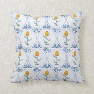 Almofada Travesseiro do teste padrão do azulejo do falso da