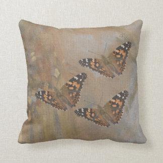 Almofada Travesseiro do trio da borboleta