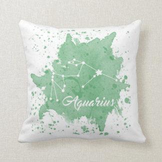 Almofada Travesseiro do verde do Aquário