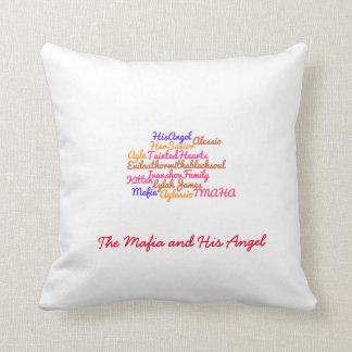Almofada Travesseiro do wordle de TMAHA