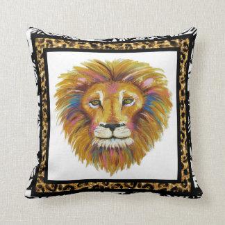 Almofada Travesseiro dois do leão