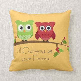 Almofada Travesseiro dos amigos da coruja