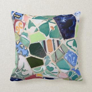 Almofada Travesseiro dos mosaicos de Guell do parque