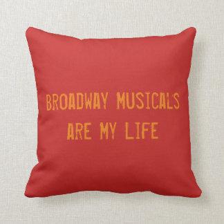 Almofada Travesseiro dos Musicals de Broadway