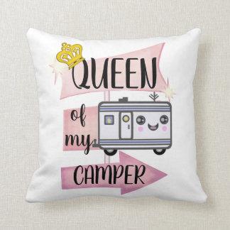 Almofada Travesseiro engraçado de acampamento do estilo de