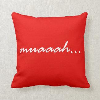 "Almofada Travesseiro especial do ""muaaah"" dos namorados!"