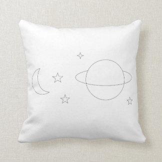Almofada Travesseiro estético do espaço