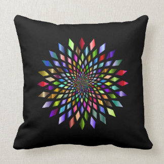 Almofada Travesseiro estourado arco-íris do design