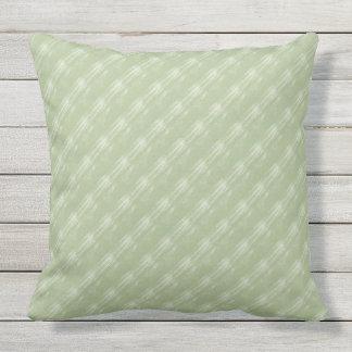 Almofada Travesseiro exterior 20x20 das diagonais do creme