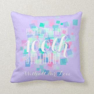 Almofada Travesseiro feito sob encomenda aniversário malva