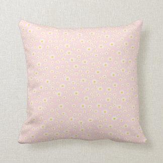 Almofada travesseiro, flor branca no rosa