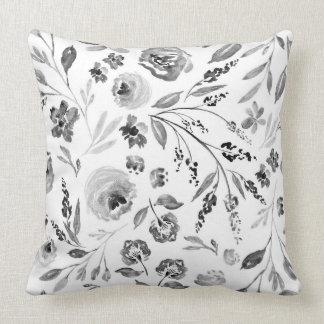 Almofada Travesseiro floral da casa da fazenda da flor de