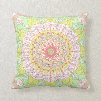 Almofada Travesseiro floral da multi cor da ioga do teste
