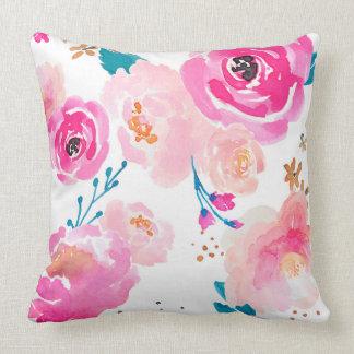 Almofada Travesseiro floral Punchy da flor de Indy