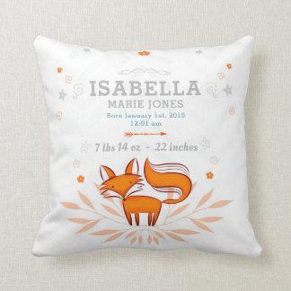 Almofada Travesseiro Foxy do Stats do bebê de Loxy