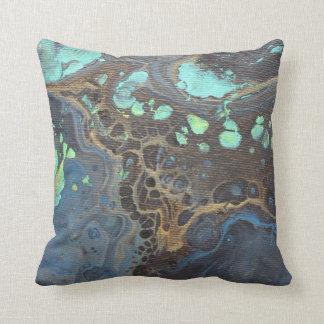 Almofada Travesseiro Funky abstrato da galáxia