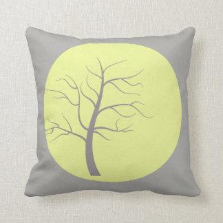 Almofada Travesseiro funky da árvore ensolarada
