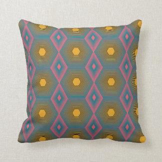 Almofada Travesseiro Funky do algodão do octagon